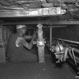 Multischaaf ondergronds afdeling X op de 546 meter verdieping van de Staatsmijn Emma