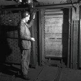 Roldeuren schacht ondergronds Staatsmijn Hendrik