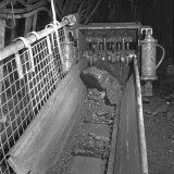 Kolenbreker ondergronds op de Staatsmijn Hendrik