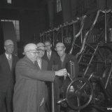 Stoppen van de laatste gasmachine in de Ammoniaksynthese van de Ammoniakfabriek 1