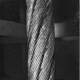 Locked coil kabel voor ophaalmachine van Schacht 3 op de Staatsmijn Emma