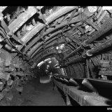 Transportgalerij ondergronds op de Staatsmijn Maurits