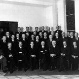 Afscheid President-directeur Frowein en Directeur Van Iterson 1942