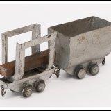 Miniatuurmijn van Harry Hendriks, materiaal- en kolenwagentje