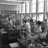 Laboratorium op het Stikstofbindingsbedrijf (SBB)