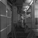 WL-anlage op de losvloer van Schacht 4 van de Staatsmijn Hendrik