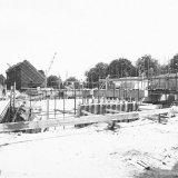 Nieuwe Synthracietfabriek van de Staatsmijn Wilhelmina in aanbouw