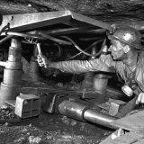 Houwer bedient wandelondersteuning ondergronds op de Staatsmijn Maurits