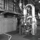 Interieur Centrale op de Cokesfabriek Emma