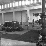 Interieur Centrale van de Cokesfabriek Emma