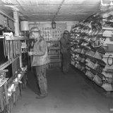 Ondergronds magazijn op de Staatsmijn Hendrik