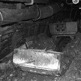 Schraaplader ondergronds op de Staatsmijn Emma