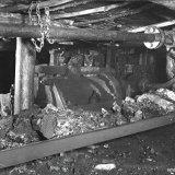 Schudgootmotor in een pijler van de Staatsmijn Hendrik