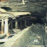 Wandelondersteuning in ondergrondse pijler op de Staatsmijn Wilhelmina