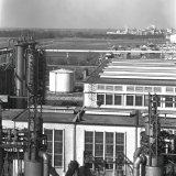 Panoramafoto van de Cokesfabriek Emma 2 te Beek