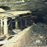 Hydraulische wandelondersteuning ondergronds Staatsmijn Emma