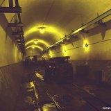 Dieselloods 546 meter verdieping ondergronds Staatsmijn Emma