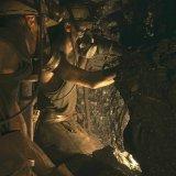 Arbeiders met afbouwhamer in pijler