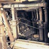 Rooflussen aan stijlen, ondergronds Staatsmijn Emma