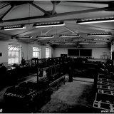 Werkplaats CWO (Centrale Werkplaatsen Organisatie) op de Staatsmijn Emma