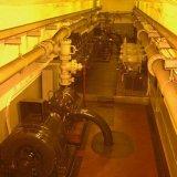 Pompenkamer op de 546 meter verdieping van de Staatsmijn Emma