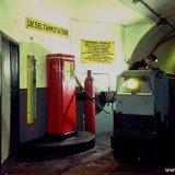 Dieseltankstation ondergronds voor locomotieven