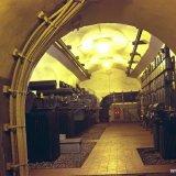 Ondergrondse traforuimte naast de pompenkamer op de Staatsmijn Emma