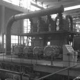 Cokesovengas compressor op het SBB