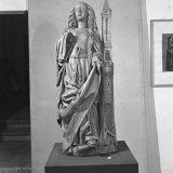 Sint Barbarabeeld in het Museum van het Bisdom Roermond in Maastricht