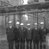 Bezoek van de Burgemeester en Schepenen van Neeroeteren  aan het Stikstofbindingsbedrijf