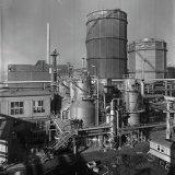 Methaankraker 1 en 2 van de Ammoniakfabrieken op het Stikstofbindingsbedrijf