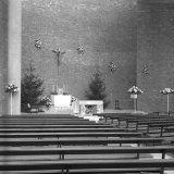 Interieur van de Kerk van de Heilige Engelbewaarder in Geleen