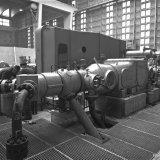 Hogedruk Compressor 9 in het Conversiegebouw van de Synthesegasfabriek op het Stikstofbindingsbedrijf