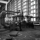 Nieuwe compressor in het conversiegebouw van de Synthesegasfabriek op het SBB