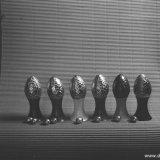 Polyethyleen eierdoppen met Paaseieren
