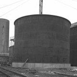 Tankopslag voor vloeibare zwavel op het SBB
