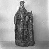 Barbara beeldje, patroon-heilige van de mijnwerkers