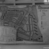 Tekening van de uitbreiding van het Giesenveld, Rukkerweg en Caumerveld te Heerlerbaan Heerlen