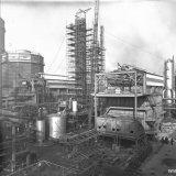 Methaankraker (Meka 4) van de Ammoniakfabrieken op het SBB