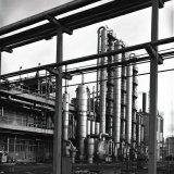 Benzolfabriek op de Cokesfabriek Maurits