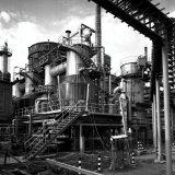 Benzinekraker omgebouwd tot Aardgaskraker (methaankraker) van de Ammoniakfabriek op het SBB