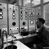 Interieur gebouw Technische Diensten op het Centraal Laboratorium