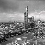 Caprolactamfabriek, Bexaanfabriek en Hexaanfabriek op het SBB