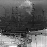 Overzicht Staatsmijn Maurits en de Cokesfabriek Maurits