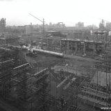 Naftakraker 2 in aanbouw op het Polychemiebedrijf