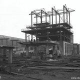 Melaminefabriek in aanbouw