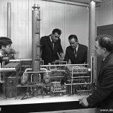 Maquette van Methaankraker 5 in het Opleidingsgebouw van de Ammoniaksector