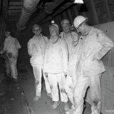 Bezoek Prinses Margriet en Pieter van Vollenhoven ondergronds