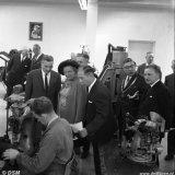 Bezoek Koningin Juliana aan de Schoenfabriek van het FvSI te Treebeek