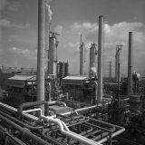 Aardgaskraakinstallatie van de Ammoniakfabriek 1 op het SBB